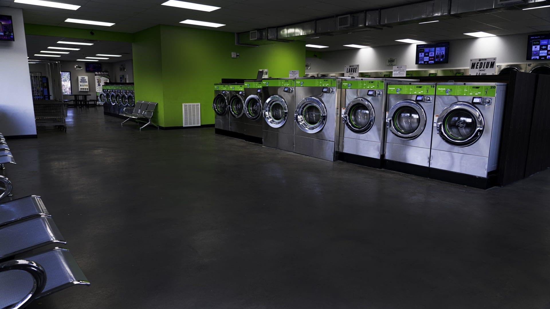 bg large washers big room - The Wash House