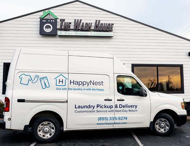 services pickup and delivery - The Wash House